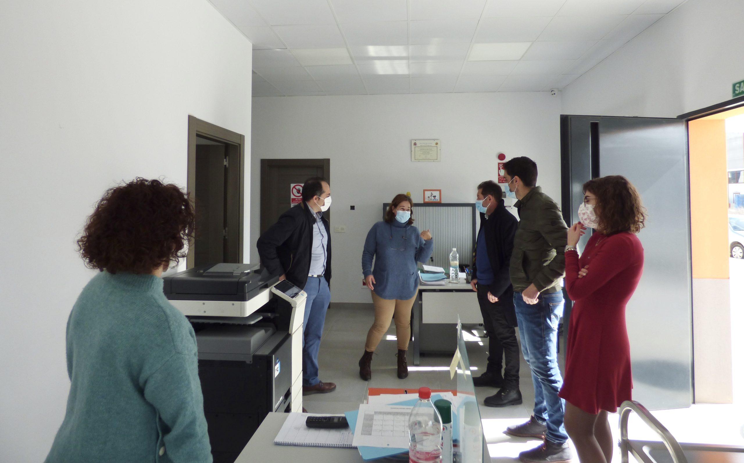 visita empresa Sanchez Marfil, gerente