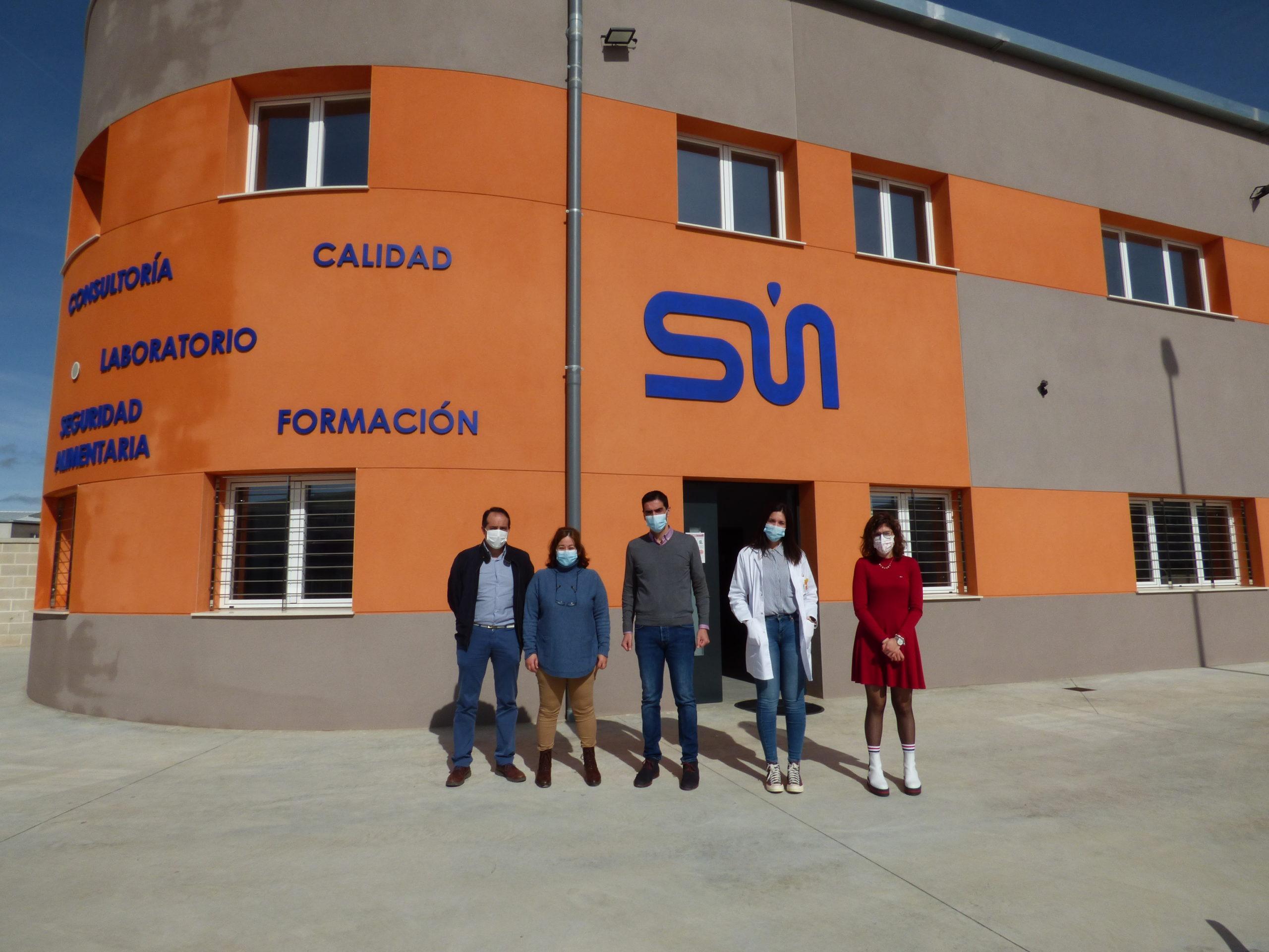visita empresa Sanchez Marfil, fachada