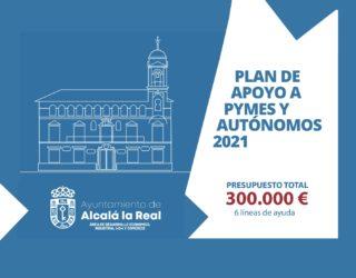 Plan de apoyo a Pymes y Autónomos 2021