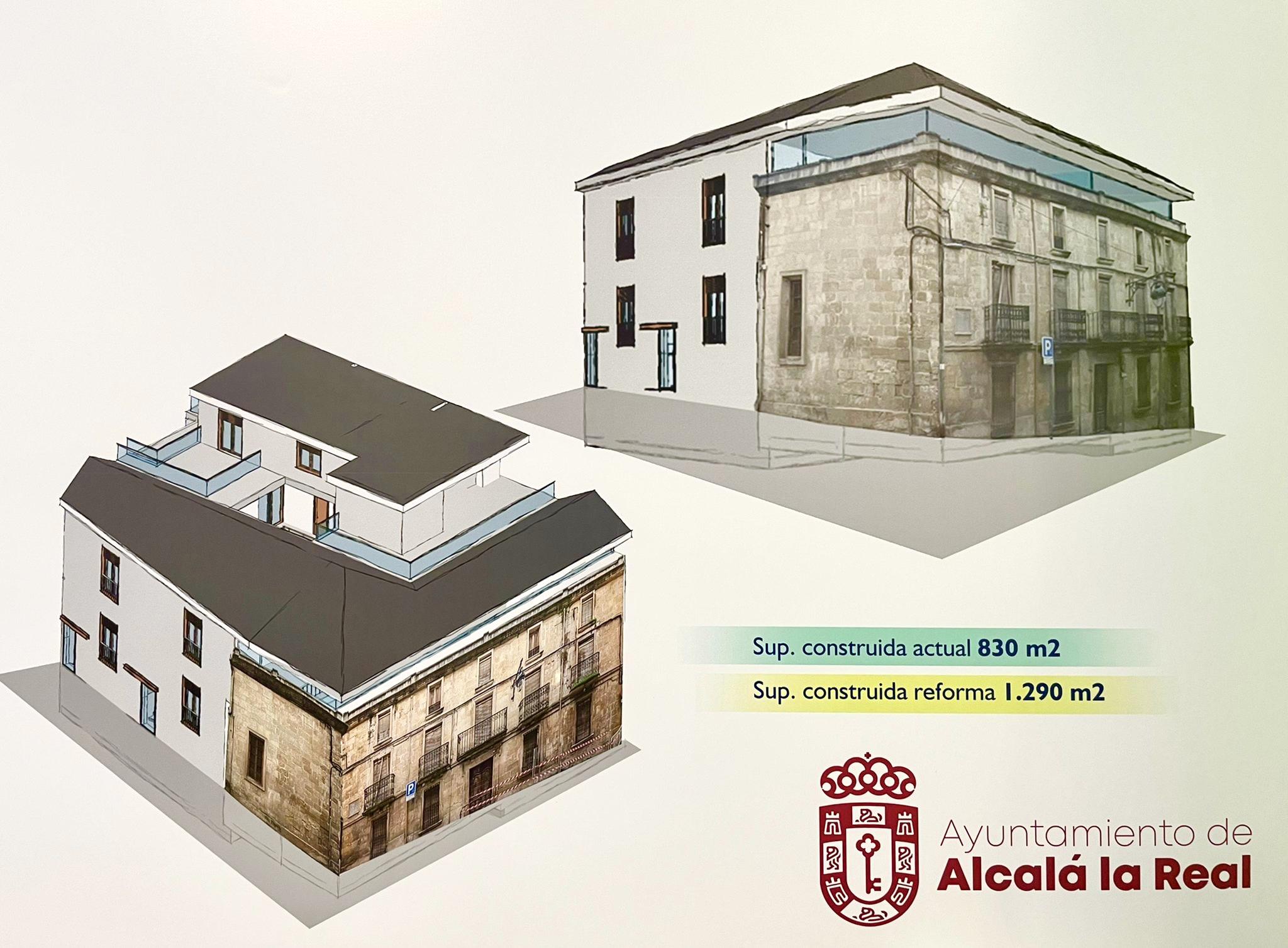 Plano rehabilitación Casa de Fernando de Tapia