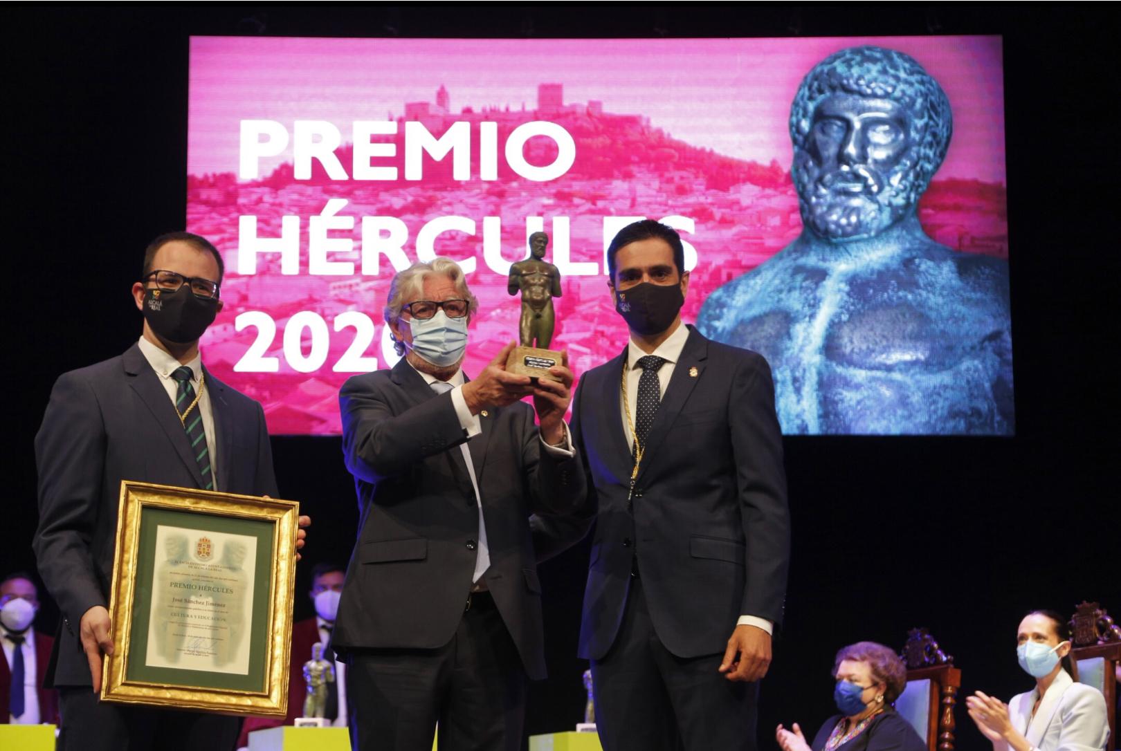 José Sánchez premios Hércules
