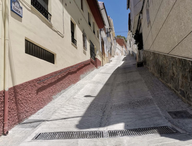 Arreglo calle Pajarejos